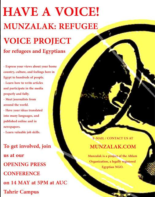 Finding voices: Refugee journalism in Egypt - Index on