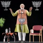 While campaigning to become prime minister, Narendra Modi addressed voters  through 3D technology on several occasions (Photo: narendramodiofficial/Flickr/Creative Commons)