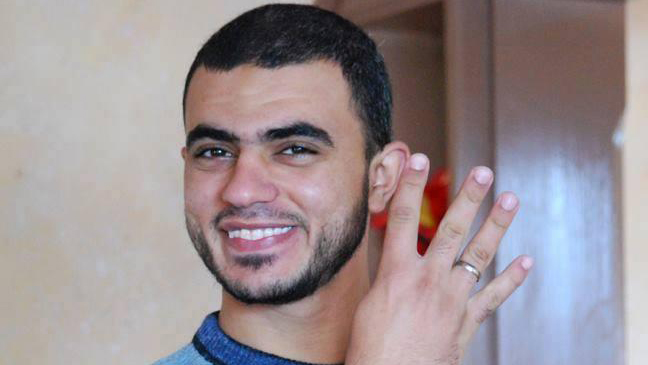 Khaled Hamad was killed while reporting on the Gaza conflict.