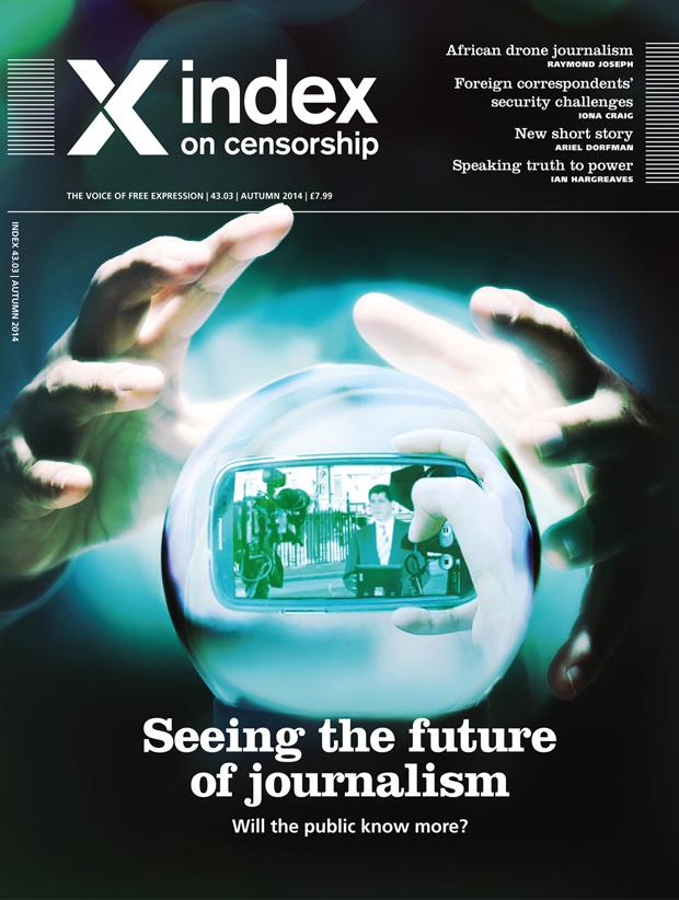 Index on Censorship autumn magazine