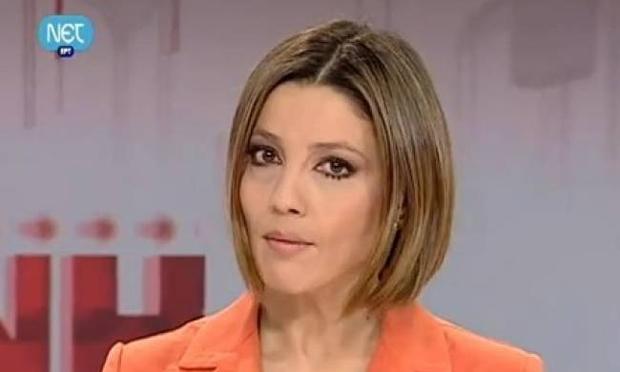 Marilena Katsimi, journalist and general secretary of Journalists' Union of Athens Daily Newspapers (ESIEA)
