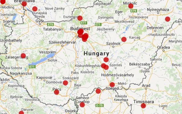 hungary-map-oct282014