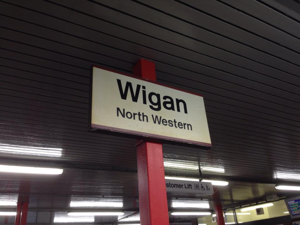 Wigan sign