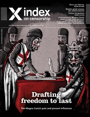 This article is part of the winter 2014 issue of the global quarterly Index on Censorship magazine.Click here to subscribe to the magazine.