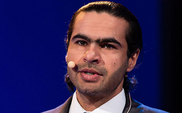 Ali Abdulemam spoke at the Oslo Freedom Forum in 2013 (Photo: Oslo Freedom Forum)