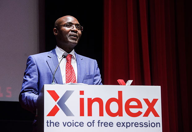 Journalist and human rights activist Rafael Marques de Morais received a Freedom of Expression Journalism Award in 2015.