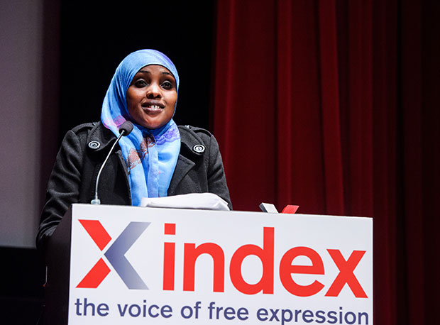 Women's rights activist Amran Abdundi (Photo: Alex Brenner for Index on Censorship)
