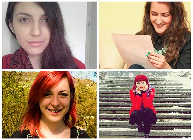Sara, Nataša, Elma and Lejla (clockwise, from top left)