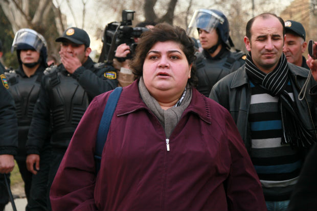 Khadija Ismayilova is one of the government critics jailed ahead of the European Games.