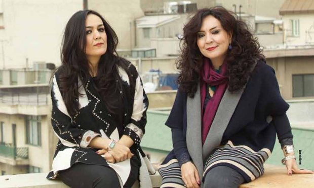 Mahsa and Marjan Vahdat are singrs from Iran. Read the Songlines article about how they deal with censorship in Iran