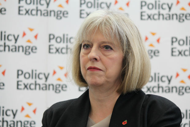 Home Secretary Theresa May (Photo: Policy Exchange/Flickr/Creative Commons)