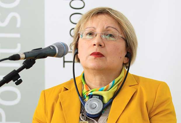 Leyla Yunus (Photo: Human Rights Watch)