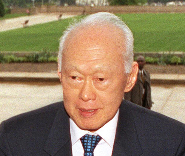 "Singapore's founding father and long-serving Prime Minister Lee Kuan Yew. (Photo: ""Lee Kuan Yew"" by Robert D. Ward - Licensed under Public Domain via Wikimedia Commons )"