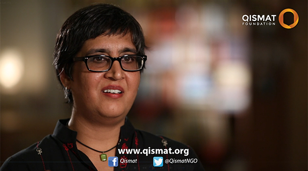 Sabeen Mahmud was killed on 24 April 2015. (Image courtesy Qismat Foundation)