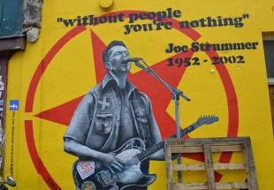 Joe Strummer (The Clash) mural, London. Credit: Flickr / Matt Brown