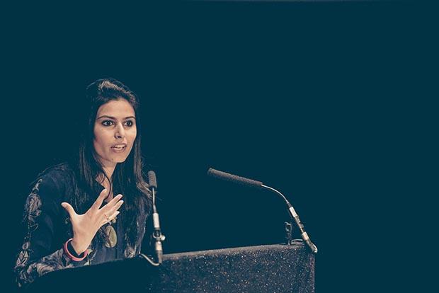 Farieha Aziz, director of 2016 Freedom of Expression Campaigning Award winner Bolo Bhi (Photo: Elina Kansikas for Index on Censorship)