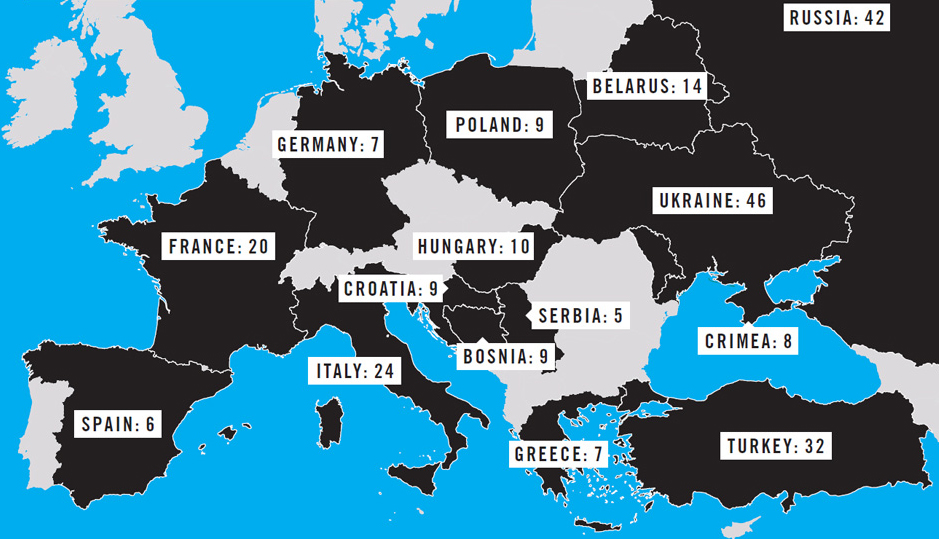 Mapping Media Freedom 1Q Report