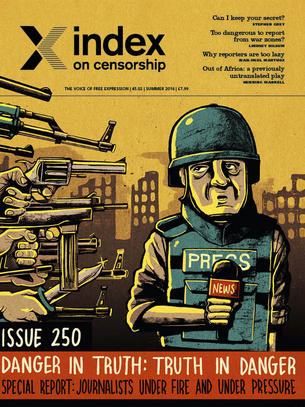 Censorship by social pressure on the