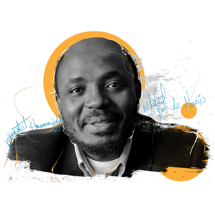 2015 Freedom of Expression Journalism Award-winner Rafael Marques de Morais