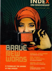 Brave New Words: The Spring 2010 issue of Index on Censorship magazine