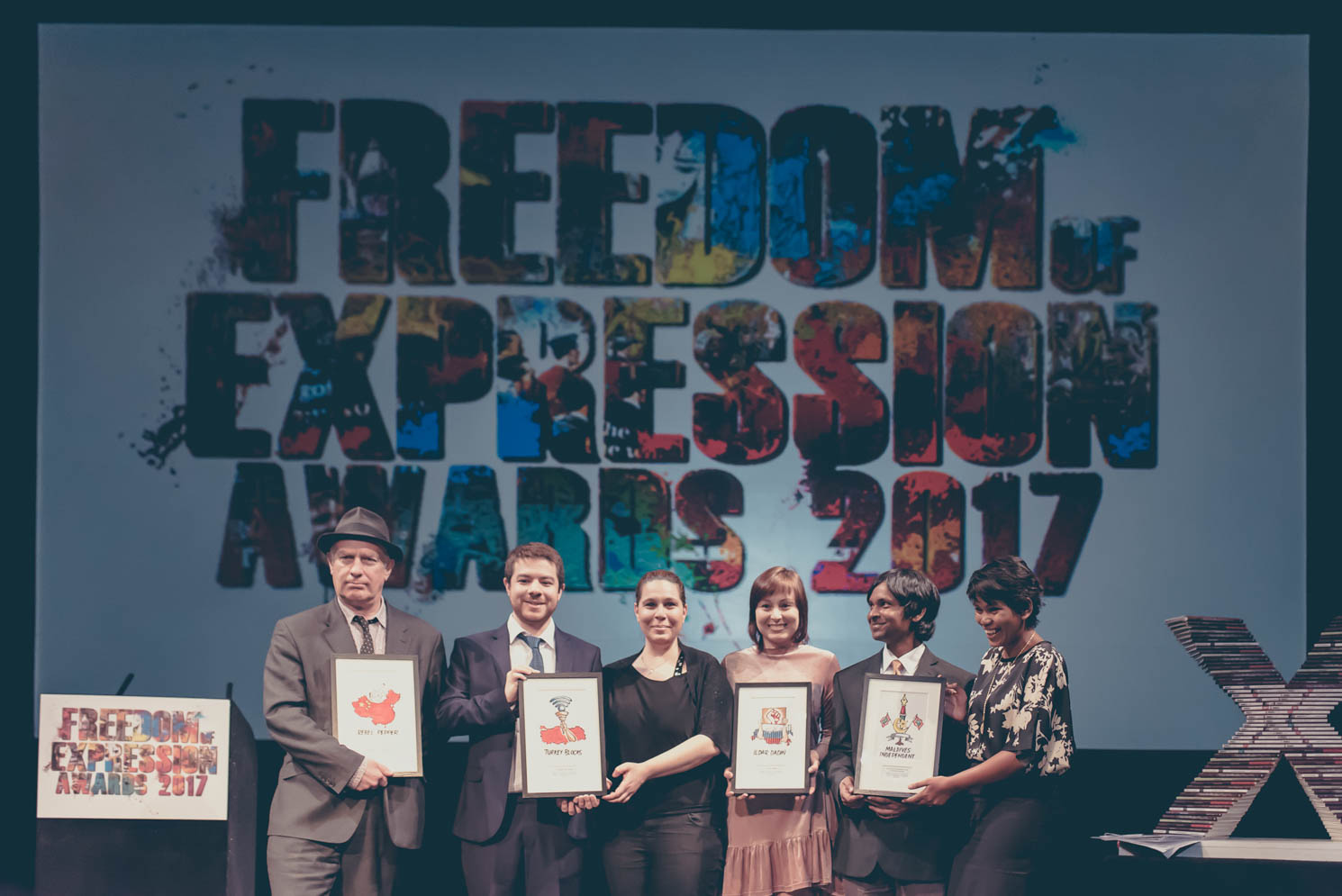 2017 Freedom of Expression Awards