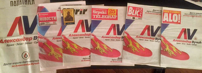 Serbia's newspapers