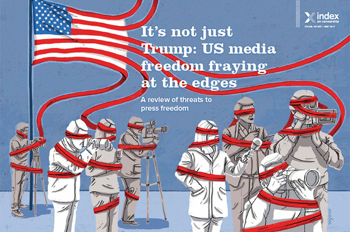 It's not just Trump: US media freedom fraying at the edges