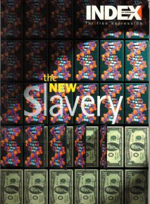 The new slavery, the January 2000 issue of Index on Censorship magazine.