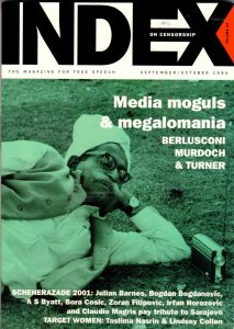 Media moguls & megalomania, the September 1994 issue of Index on Censorship magazine