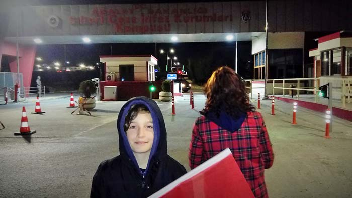 Turkey Dr. Sunay Usluer and her ten-year-old son waited for a release that didn't come.