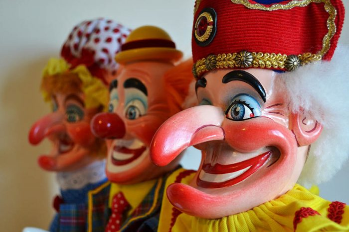 Punch and Judy puppets. Credit: Sid Williams / Flickr