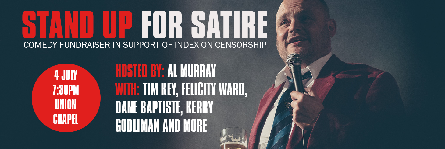 Stand Up For Satire with Al Murray and Tim Key