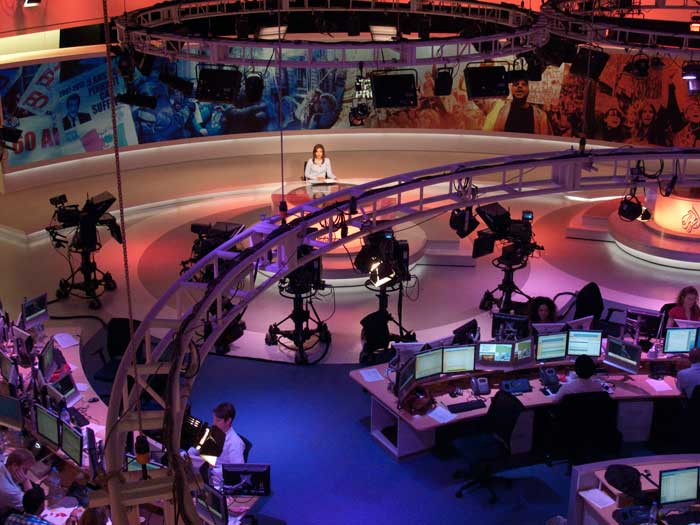 Al Jazeera Broadcast Center in Doha, Qatar