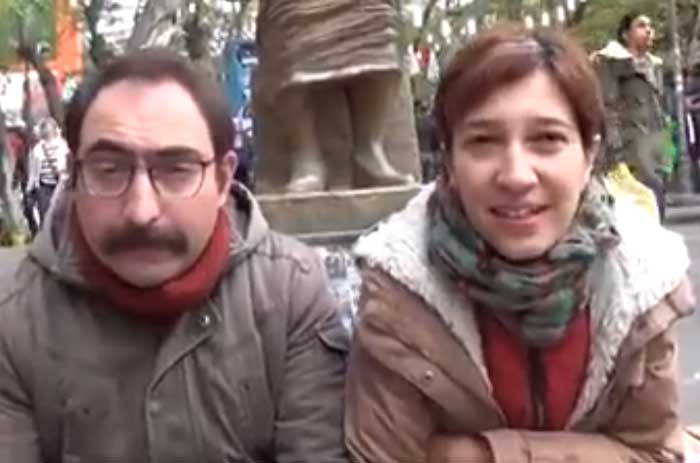 Nuriye Gulmen, a professor of literature, and Semih Ozakca, a primary school teacher, were both fired following the issuing of emergency decree 675 by Erdogan's government.