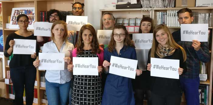 #WeHearYou campaign expresses solidarity with Bahraini dissidents