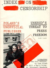 UNESCO's threat to press freedom. the February 1981 issue of Index on Censorship magazine