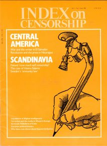 Central America. the April 1982 issue of Index on Censorship magazine