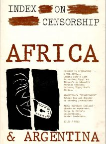 Africa & Argentina, the June 1980 issue of Index on Censorship magazine