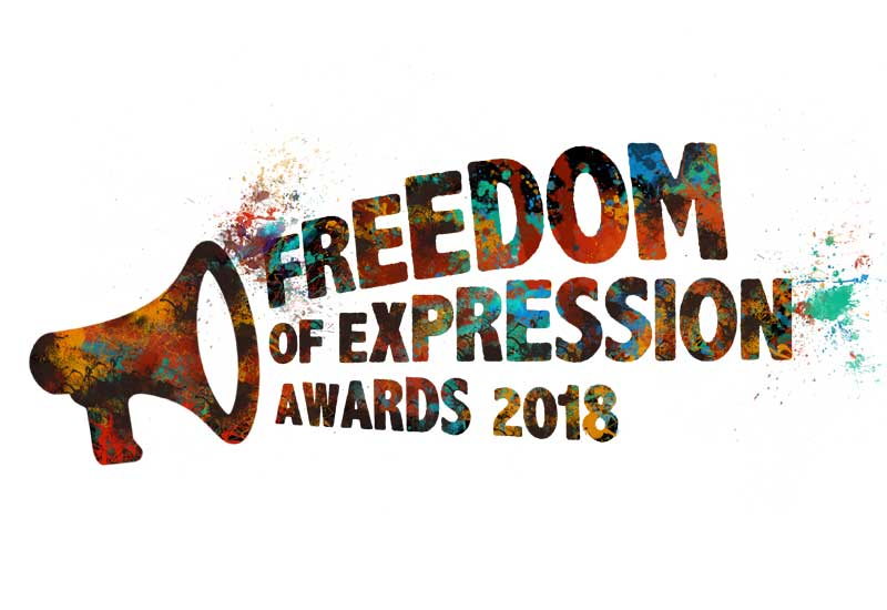 2018 Freedom of Expression Awards link