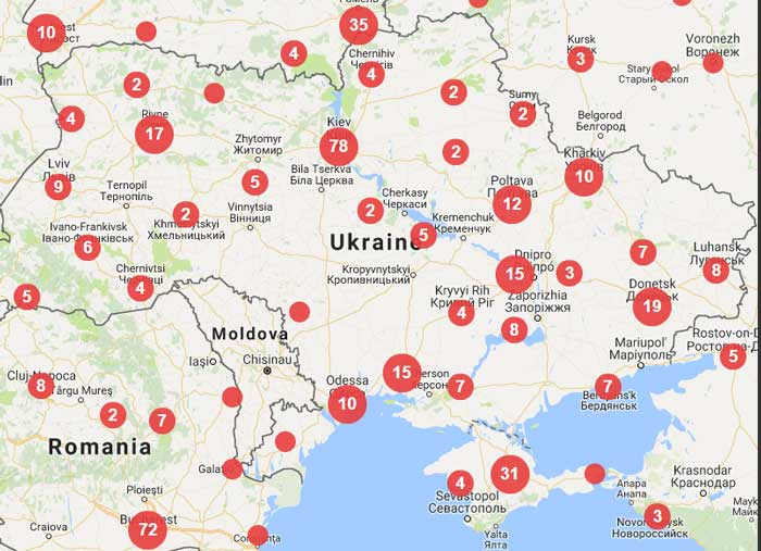 Index on Censorship monitors press violations in Ukraine and 41 other European area nations.