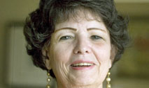 Judith C. Russell, a dean of libraries who addresses issues relating to controversial speakers