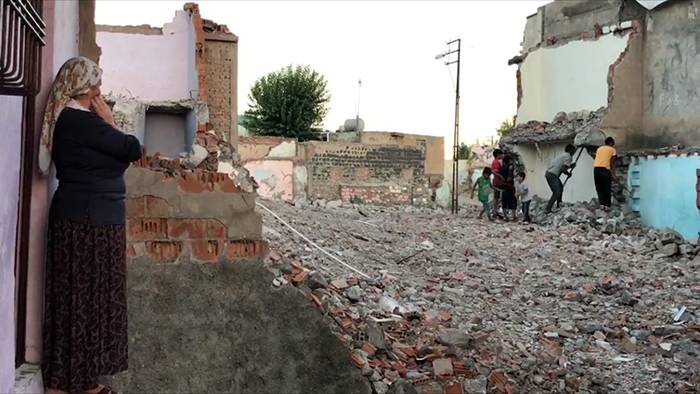 "Various neighbourhoods in the Sur district of Diyarbakır have been demolished as part of an ""urban regeneration programme""."