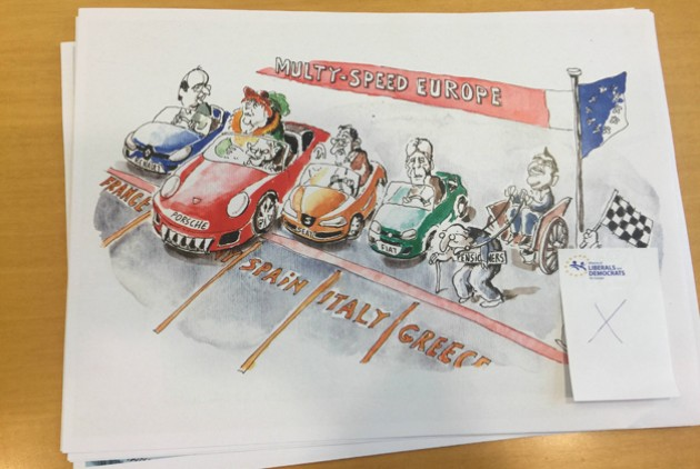 Yannis Ioannou's editorial cartoon removed from a European Parliament exhibition.