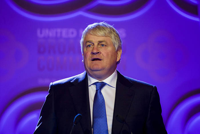 Denis O'Brien, the owner of Communicorp
