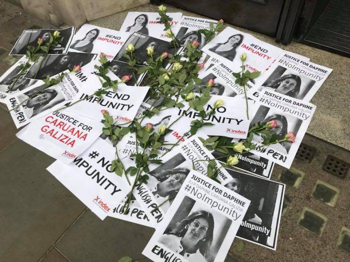 Daphne Caruana Galizia protest 1