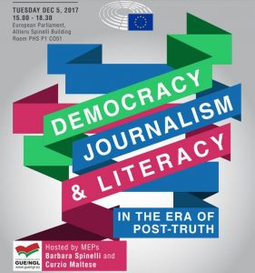 Democracy, journalism and literacy in the era of post-truth