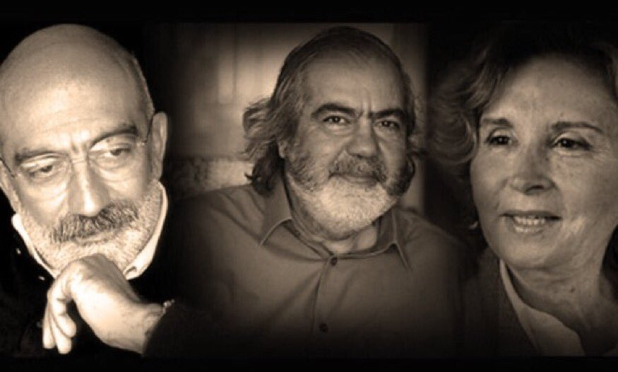 Ahmet Altan, Mehmet Altan and Nazli Ilcak