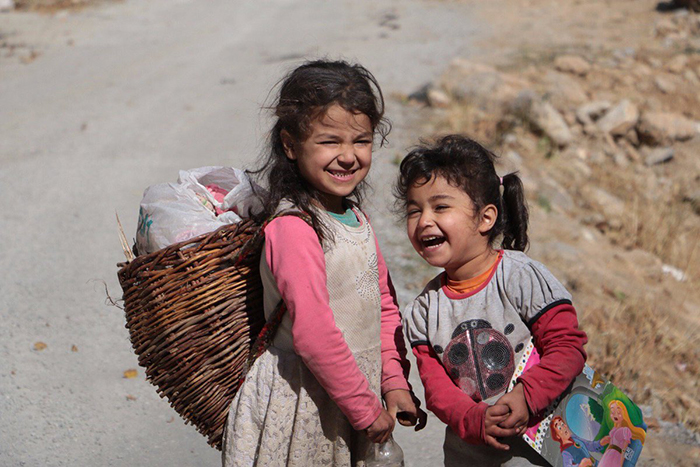 Photos Seda Taşkın took of two children returning from school (including the picture above) were widely shared on social media, helping to raise awareness on the precarious situation of children living in villages around Lake Van. © Seda Taşkın / courtesy of Mezopotamya Agency