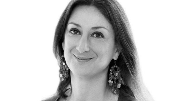 Journalist Daphne Caruana Galizia was murdered on 16 October 2017