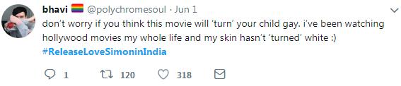 tweet-this movie will not turn your children gay